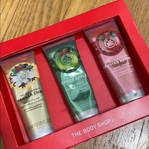 Limited Edition Body Shop Hand Creams